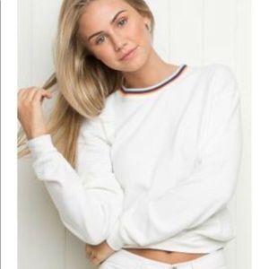 Brandy Melville Rainbow Neck Sweater